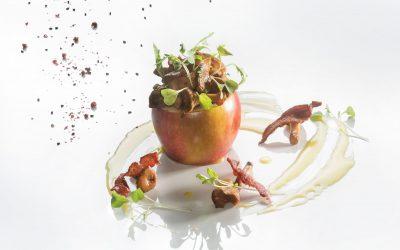 Kurki z jabłkiem po wrocławsku